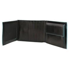 Черное портмоне Piquadro Blue Square