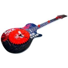 Настенные часы с вешалкой Рок гитара
