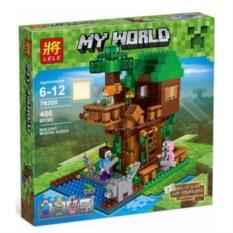 Конструктор Lele Minecraft Домик у реки