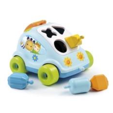 Развивающий автомобиль с фигурками, Smoby