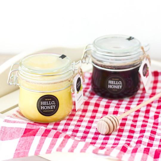 Набор подарочный мёда и варенья Sweet Blossom