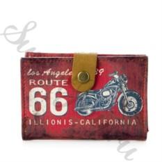 Визитница Historic Route 66 – Red