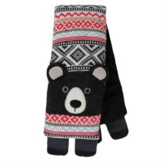 Вязаный шарф Bear с турмалином и лавандой