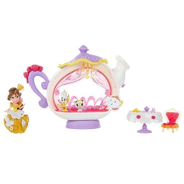 Кукла с аксессуарами Disney Princess Белль и гостиная