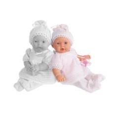 Плачущая кукла-младенец Лана в розовом