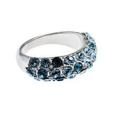 Кольцо с кристаллами Swarovski Сисси
