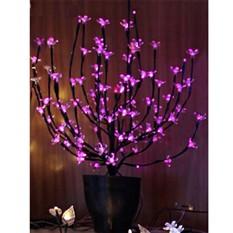 Светодиодное мини дерево в горшке Цветы сакуры