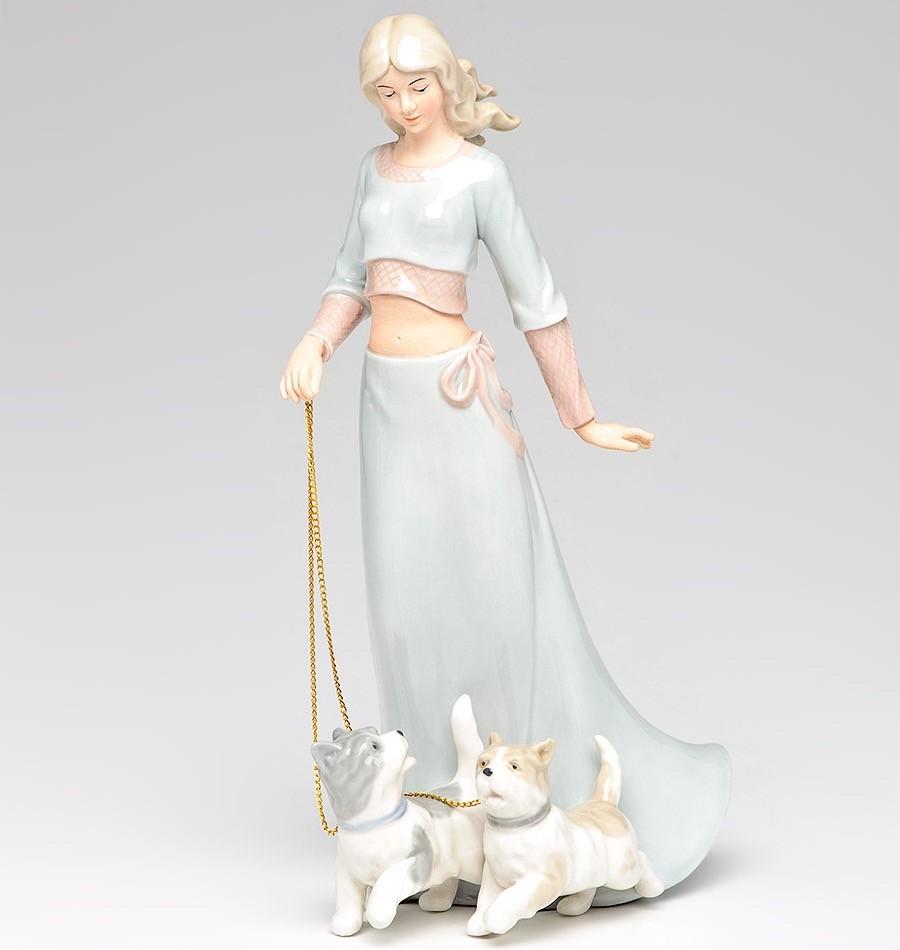 Статуэтка Дама с собаками