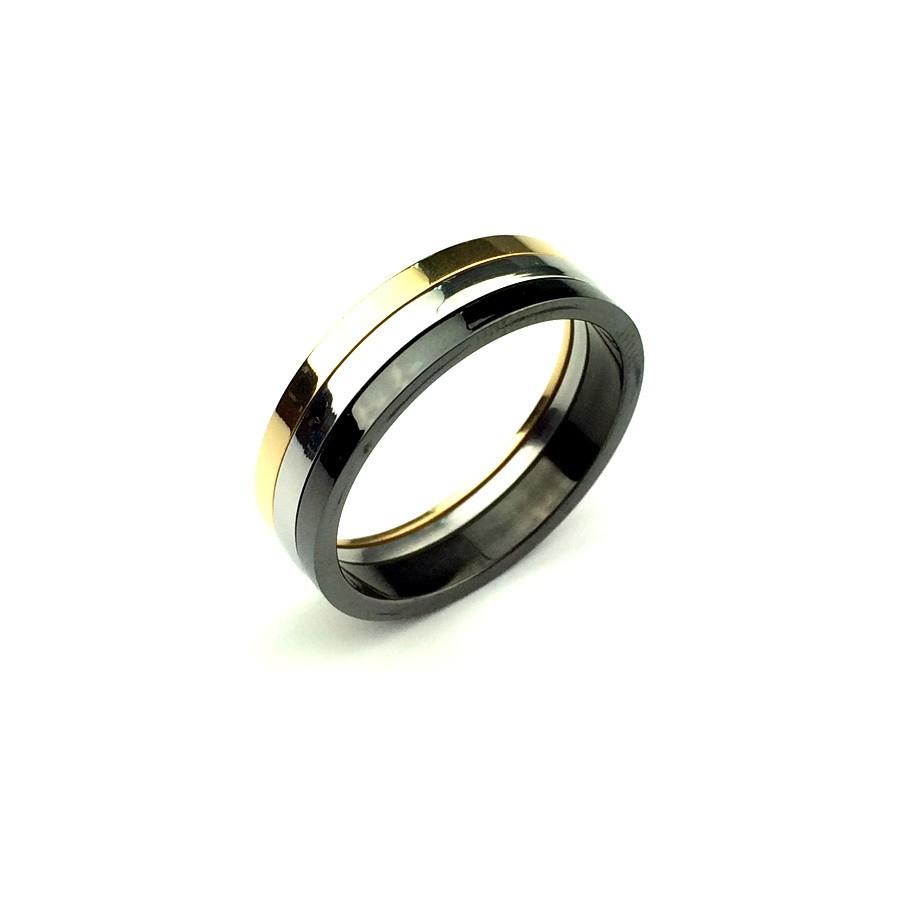 Кольцо из стали Respect Steel
