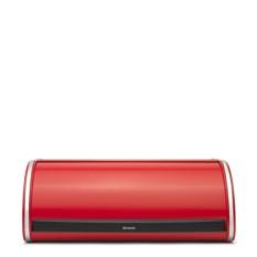 Красная хлебница Roll Top