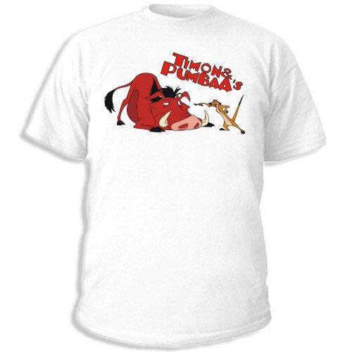 Футболка Timon & Pumba