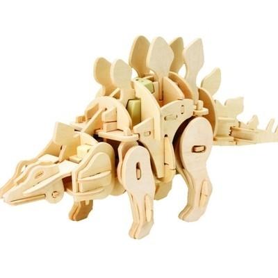 «Мини-Стегозавр». 3D конструктор (75 деталей)