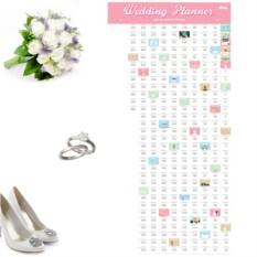 Календарь-планинг для свадьбы Wedding planner
