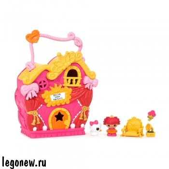 Игровой набор Домик принцессы (Lalaloopsy Tinies)