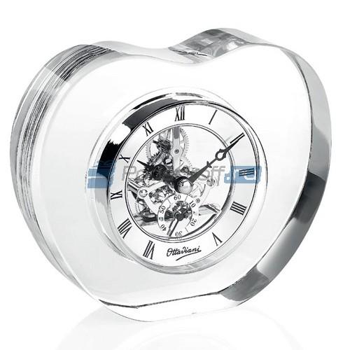 Стеклянные часы Сердце