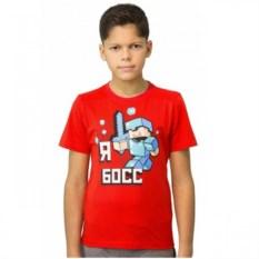 Красная футболка Стив