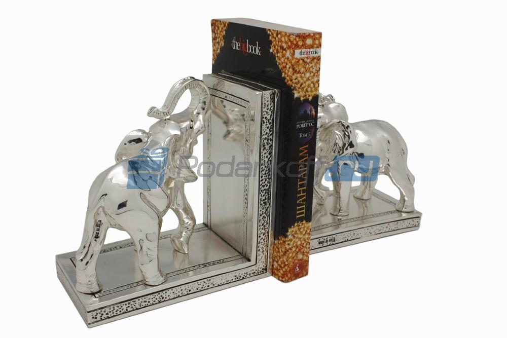 Держатель для книг Два слона