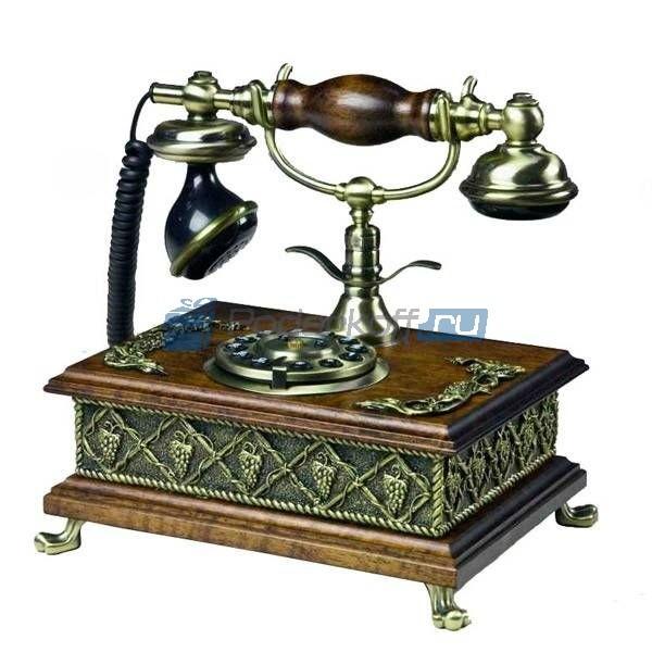 Кнопочный ретро-телефон Мэдисон