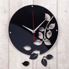 Оригинальные настенные часы Листопад