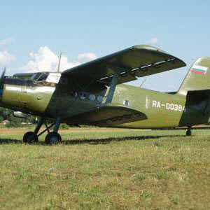Ознакомительный полет на АН-2