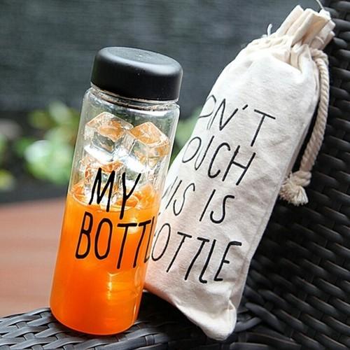 Бутылка My bottle в мешочке