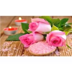 Набор для вышивки стразами «Розы и свечи»