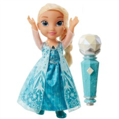 Кукла со звуком Disney Princess Эльза. Холодное Сердце