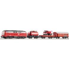 Стартовый набор моделей железных дорог PIKO 57153 «Пожарный поезд»