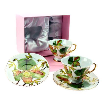 Подарочный набор чайный «Зелёная орхидея»