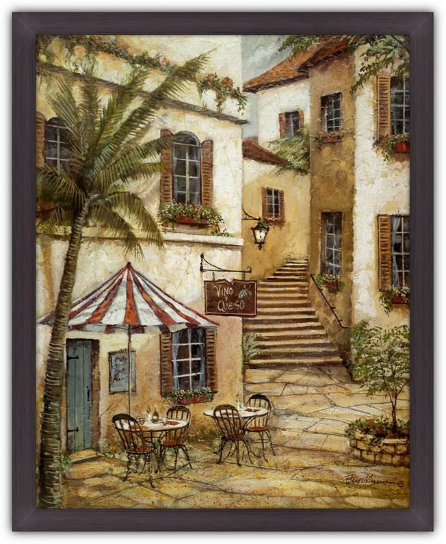 Постер Вино и сыр (Итальянское кафе) Руан Маннинг