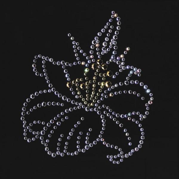Картина с кристаллами Swarovski Цветок лилии