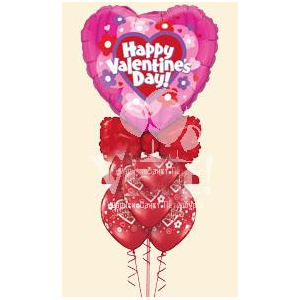 Букет из шаров «Сердце»