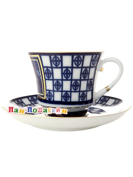 Чайная чашка с блюдцем Львиный мостик