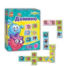 Настольная игра Домино «Смешарики»