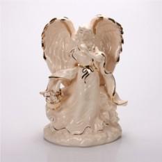 Фигурка Девушка-ангел с корзинкой цветов Hangzhou Jinding