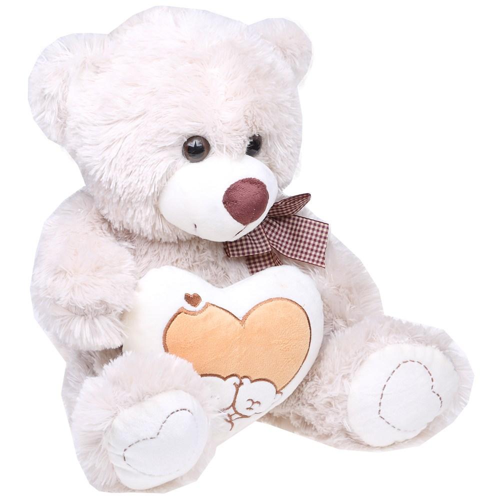 Мягкая музыкальная игрушка «Медвежонок с сердцем»