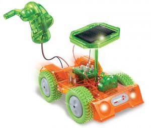 Машина на солнечных батареях «Кузнечик»