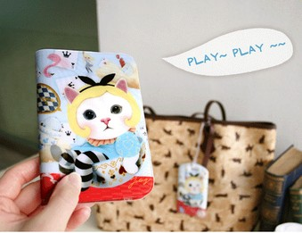 Обложка для паспорта Play Choo Choo Alice