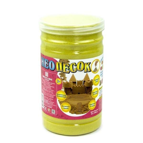 Пластичная масса для лепки Желтый НеоПесок