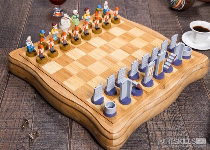 Шахматы Стройка