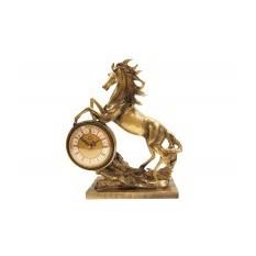 Декоративные кварцевые настольные часы Лошадь