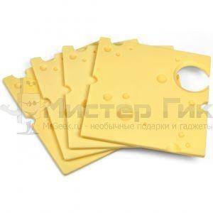 Фуршетные мини-подносы Сыр (4 шт)