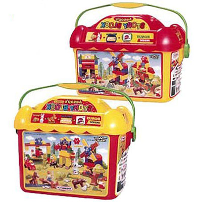 Конструктор Haenim toys «Парк животных» 201