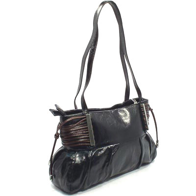 Женская сумочка Sergio Valentini (чёрная)