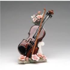 Музыкальная статуэтка Скрипка