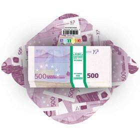 Конверт Гигант 500 евро, Эврика