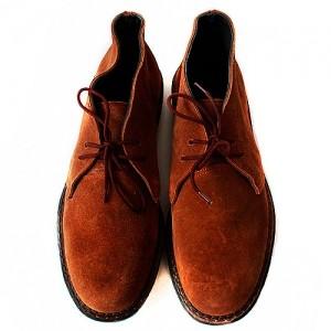 Ботинки светло-коричневые
