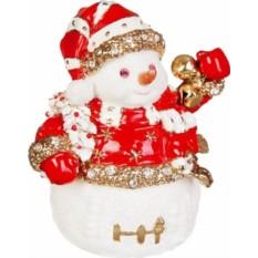 Шкатулка Снеговик