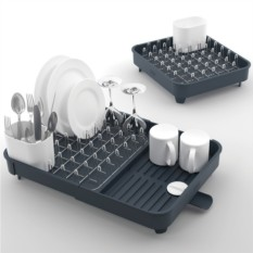 Серая раздвижная сушилка для посуды Extend