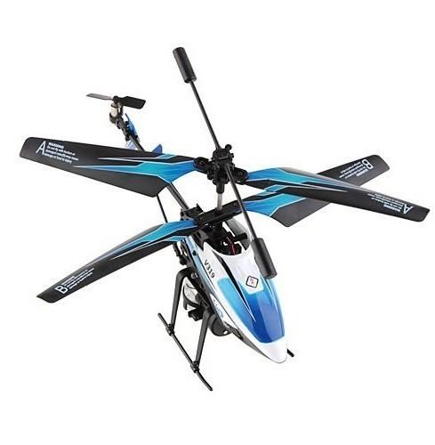 Радиоуправляемый вертолет WL Toys WLT-V319 с водяной пушкой
